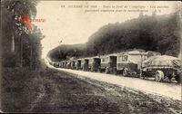 Dans la forêt de Compiègne, Les autobus parisiens, Ravitaillement