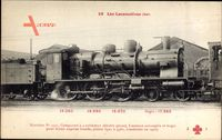 Französische Eisenbahn, Chemin de fer, Locomotive, Machine No 3541