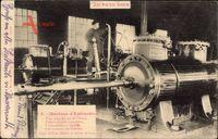 Au Pays Noir, Machine dExtraction, Maschine in einem Bergwerk