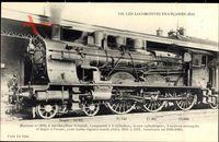 Französische Eisenbahn, Chemin de fer, Locomotive, Est, Machine No 3160