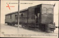 Französische Eisenbahn, Chemin de fer, Locomotive, KNVA No 1