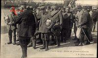 Casablanca Marokko, Arrivée des prisonniers allemands
