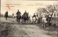 Casablanca Marokko, Le général dAmade, et le général Lyautey