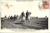 Ber Rechid Marokko, Le Général dAmade, Commandant la Colonne du Littoral