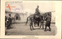 Casablanca Marokko, Le Général Lyautey qittant Médiouna