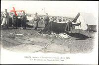 Oudja Marokko, Les Tirailleurs au Camp de Sidi Yaya