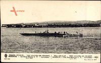 Bizerte Tunesien, Le Sous Marin L V, Lavoisier Avril 1915