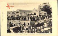 Rabat Marokko, Dans la Chaloupe Royale le sultan traverse lOued