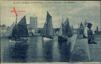 Les Sables dOlonne Vendée, Tour dArundel, la Chaume, Mann in Tracht