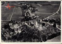Oberstadion in Württemberg, Fliegeraufnahme von Ort und Umgebung