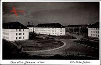 Koblenz in Rheinland Pfalz, Quartier Jeanne darc, Kaserne