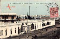 Casablanca Marokko, Les Nouvelles Casernes, la Facade,Ave. du General dAmade