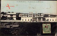 Casablanca Marokko, Vue generale des nouvelles Casernes, Kaserne, Eingang