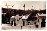 Casablanca Marokko, Caserne des Zouaves, Eingang zur Kaserne