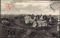 Marokko, Campements des Tirailleurs Algeriens, Infanterie, Militärlager