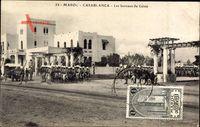 Casablanca Marokko, Les bureaux du Genie, Auto, Infanteristen