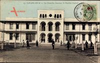 Casablanca Marokko, Les Nouvelles Casernes, le Pavillon Central, Kaserne