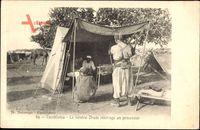 Casablanca Marokko, Le General Drude interroge un prisonnier,Kriegsgefangener