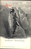Rhonegletscher, Gletscherbesteigung, Bergsteiger