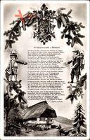 Gedicht O Schwarzwald, o Heimat, wie bist du so schön, Ludwig Auerbach