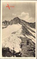 Schönbichler Horn, Zillertal, Blick hoch entlang der Bergwand