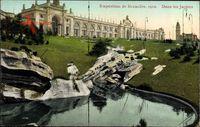 Bruxelles Brüssel, Expo, Weltausstellung 1910, Dans les Jardins