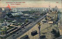 Bruxelles Brüssel, Expo, Weltausstellung 1910, Section Francaise
