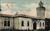 Bruxelles Brüssel, Expo, Weltausstellung 1910, Pavillon Tunisien
