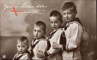 Zum Besten der Cecilienhilfe, Söhne des Kronprinzenpaares, NPG