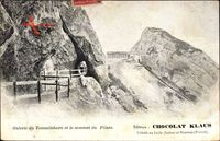 Galerie du Tommlishorn et le sommet du Pilate, Berggipfel, Chocolat Klaus