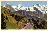 Schynige Platte Bahn, Eiger, Mönch und Jungfrau