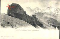 Gummihorn mit Eiger, Mönch und Jungfrau, Schweiz