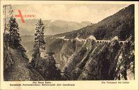 Die Neue Bahn, Garmisch Partenkirchen, Mittenwald, Zirl, Innsbruck