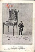 Le Prince Colibri, Liliputaner, Mesurant 62 centimètres