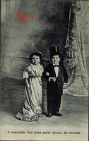 Les plus petit époux du monde, Kleinstes Ehepaar der Welt, Liliputaner