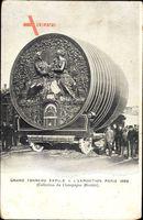 Paris, Exposition 1889, Grand Tonneau, Großes Weinfass
