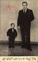 Henri Renard, LHomme le plus petit du Monde, Liliputaner