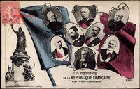 Passepartout Présidents de la République Francaise, Loubet, Fallières