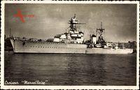 Französisches Kriegsschiff, Croiseur Marseillaise, Cuirassé