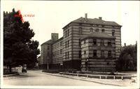 Speyer, Caserne Normand, Kaserne, Vorplatz, Auto, Zaun