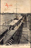 Ferryville Tunesien, Arsenal de Sidi Abdallah, Le Grand bassin, Torpedoboot