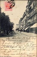 Donostia San Sebastián Baskenland, La Alameda, Straßenpartie, Geschäfte