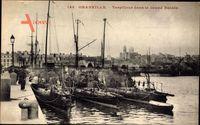Granville Manche, Französische Kriegsschiffe, Torpilleur dans le Grand Bassin