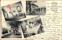 Buitenzorg Indonesien, Hotel du Chemin de Fer, Innenansicht, Schaukelstuhl