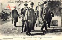 Casablanca Marokko, M. Regnault, M. Malpertuy, Consul, Campagne du Maroc