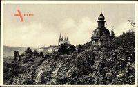 Praha Prag, Hanavsky Pavilon na Letne, Restaurace, Kirchturm