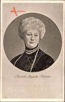 Passepartout Kaiserin Auguste Viktoria, Portrait, Perlenkette