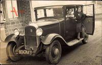 Frankreich, Automobil, Citroen, 604 AF3, Familie, Frau am Steuer