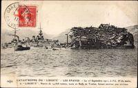Catastrophe du Liberté, Les Epaves, 25 Sept 1911, Schiffswrack