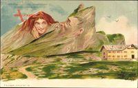 Gemmipass, Ein alter Schwerenöter, Berggesichter, Killinger No 118